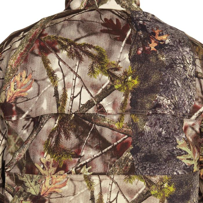 VESTE CHASSE LEGERE 100 CAMOUFLAGE FORET