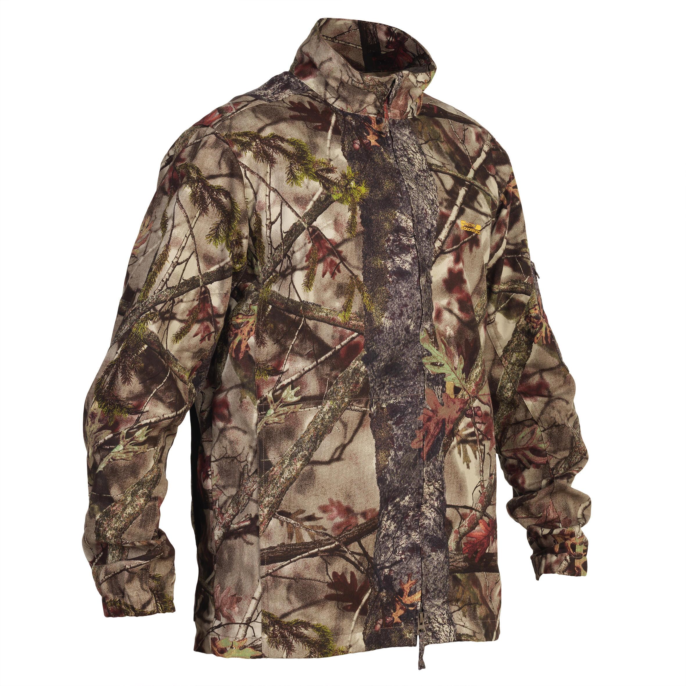 Solognac Jas Actikam 100 camouflage bruin