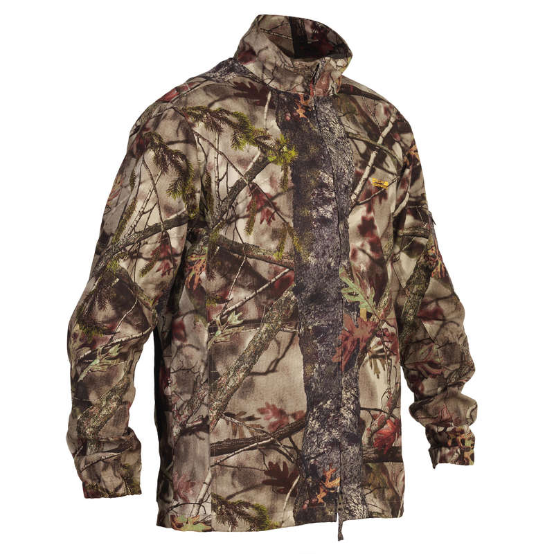 CAMO CLOTHING DRY/WET WEATHER - Actikam 100 Jacket - Camouflage SOLOGNAC