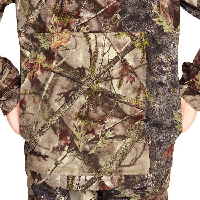 Jagdjacke 100 leicht camouflage Waldmuster