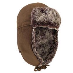 打獵毛帽chapka Toundra 500-棕色