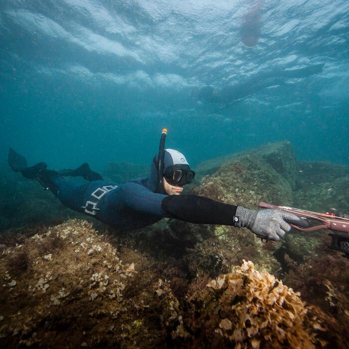 Pantalón Pesca Submarina Subea Neopreno 3 mm SPF 100 Gris Azul