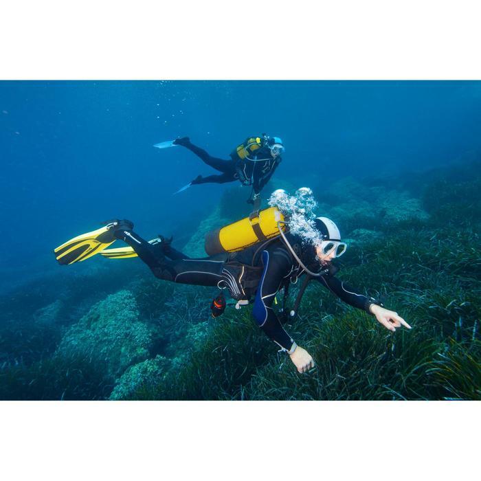 Heren duikpak Subea + modular SCD 900 voor diepzeeduiken 5,5 mm