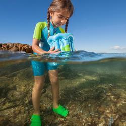 Waterschoenen Aquashoes 100 voor peuters groen