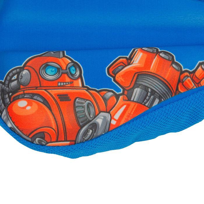 Sattelbezug Kinder blau