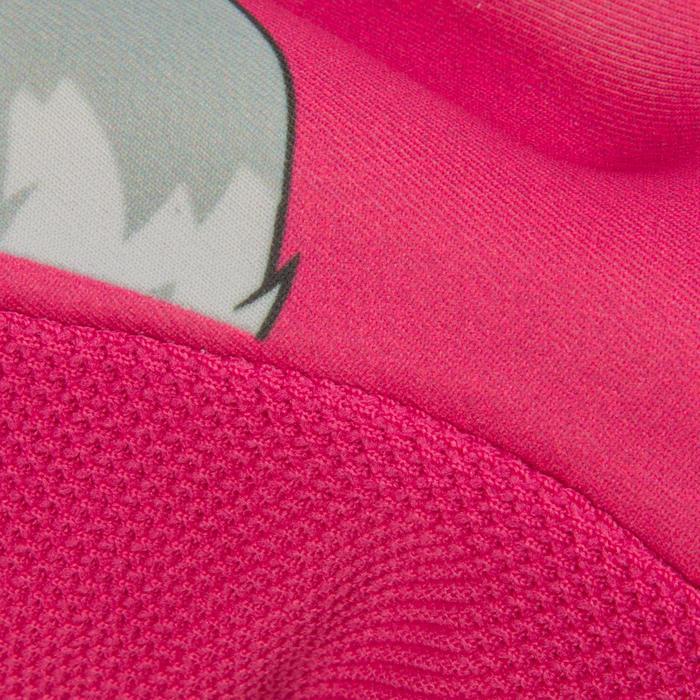 Zadelhoes kinderfiets roze