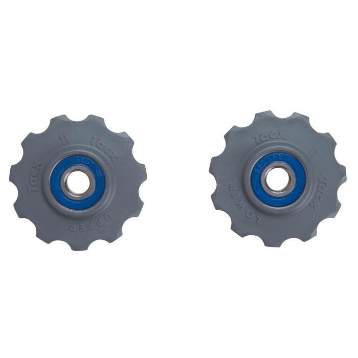 Derailleurwieltjes rvs T4060 Shimano 9/10/11 v en Campagnolo 11 v - 1108011