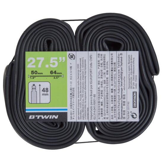 Set van 2 binnenbanden voor banden van 27.5 inch doorsnede 1.9/2.5 Presta - 1108016