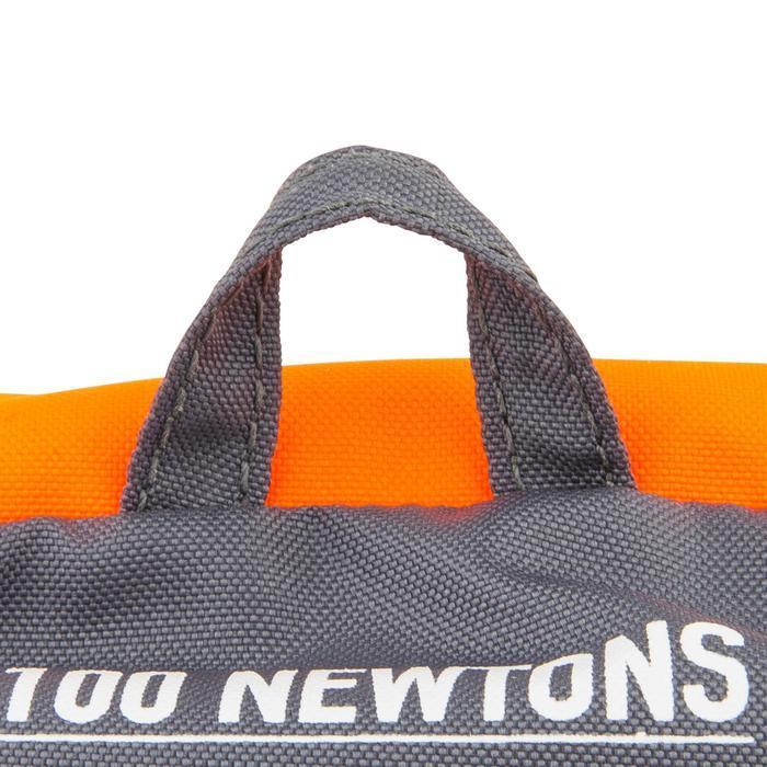 100N兒童款泡棉救生衣EASY LJ-橘色/灰色