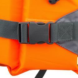 Rettungsweste Schaumstoff LJ 100N Easy Segeln Kinder orange/grau