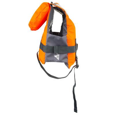Gilet de sauvetage mousse enfant LJ 100N EASY orange/gris