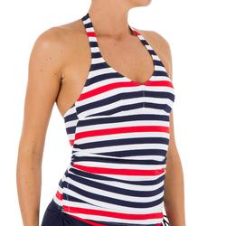 Ilona Women's Tankini Swimsuit Top - Navy