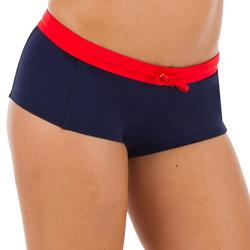 VAIANA Women's Surfing Shorty Swimsuit Bottoms WITH DRAWSTRING - NAVY