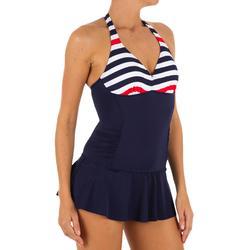 Sara 女性連身裙泳裝 - 海軍藍