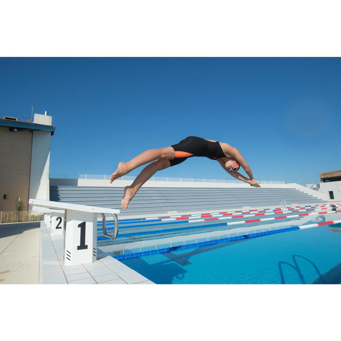 Lunettes de natation B-FAST Noir Vert Clair