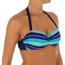 Haut de maillot de bain femme bandeau armatures MALIBU avec lien cou  amovible 8ad7ec95125