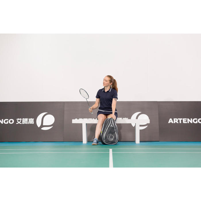 Rucksack Tennis 100 BP Schlägertasche indigo