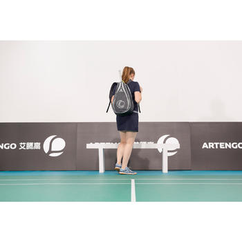 100 BP Racket Sports Backpack - Grey/Pink
