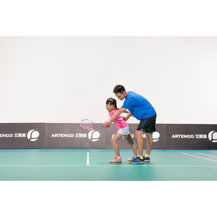 BR 700 JR Easy Grip Rose Raquette junior de badminton