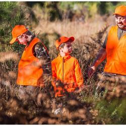 Polaire chasse junior camo vert