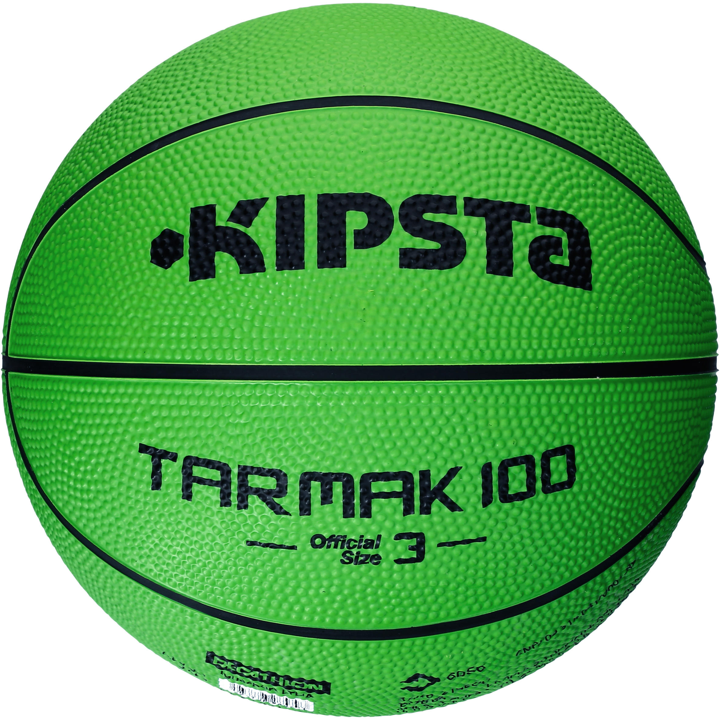 Tarmak 100 Kids Size 3 Basketball - Green