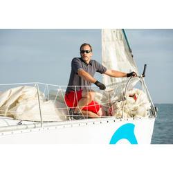 Guantes Mitones Barco Vela Tribord Sailing 500 Adulto Negro Sin Dedos