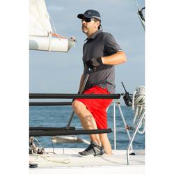 Bermuda bateau Race Homme Rouge vif