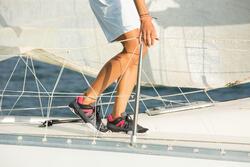 Dekschoenen Arin 500 voor dames grijs/roze - 1109913