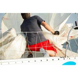 Uniseks zeilhandschoenen Sailing 500 zwart