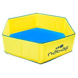 Piscina Desmontable Natación Nabaiji Portátil Amarilla con Bolsa Transporte