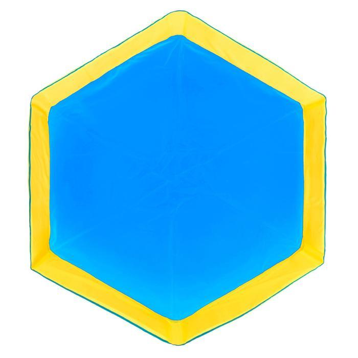 Piscinette enfant TIDIPOOL bleue avec sac de transport étanche - 1109922