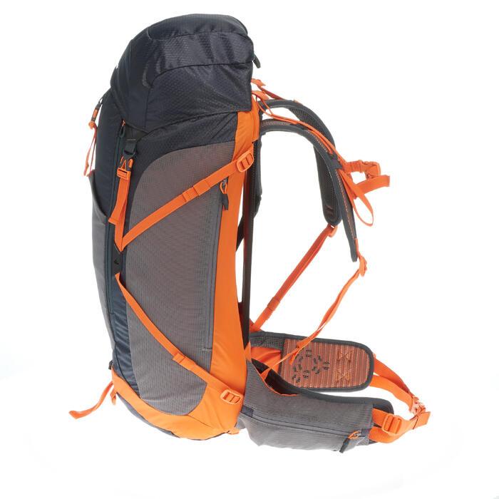 febd905b8 Mochila de Montaña y Trekking Quechua MH500 40 Litros Negro Naranja ...