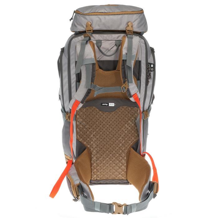 Sac à dos Trekking Travel 500 Femme 70 litres cadenassable gris - 1109938
