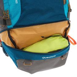 Backpacker-Rucksack Travel500 50 Liter abschließbar Damen blau