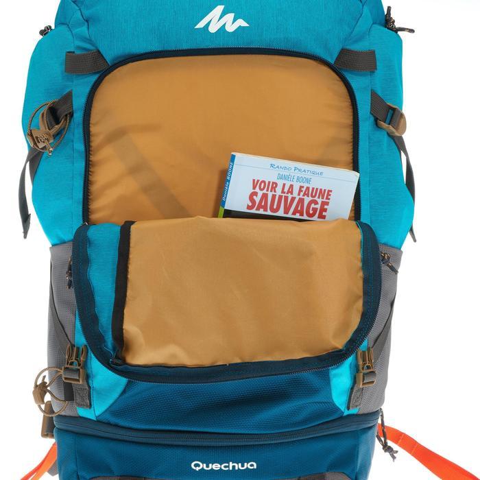 Sac à dos Trekking TRAVEL 500 Femme 50 litres cadenassable bleu - 1109966