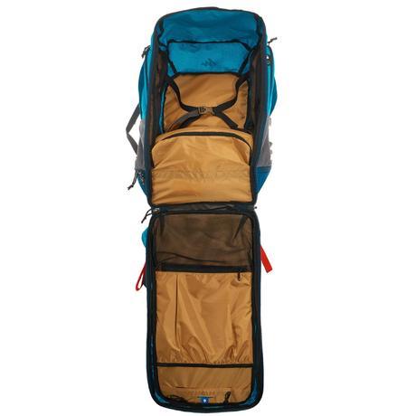 e2fd6f4188 Sac à dos trekking TRAVEL500 50 litres cadenassable femme bleu. Previous.  Next