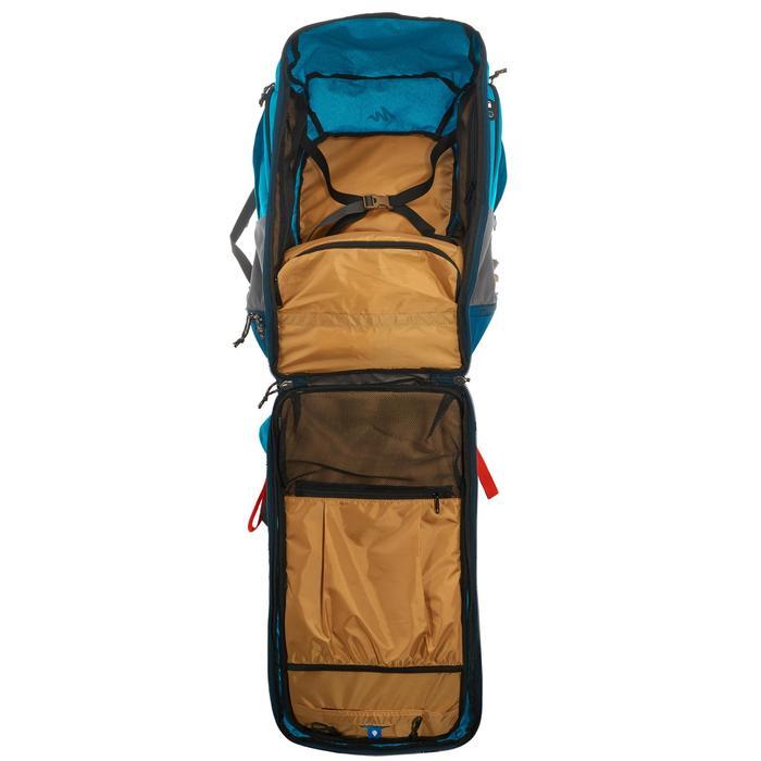 Sac à dos Trekking TRAVEL 500 Femme 50 litres cadenassable bleu - 1109977