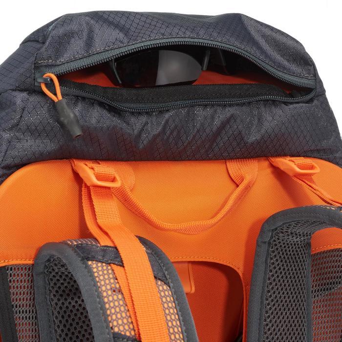 Rugzak MH500 40 l zwart/oranje