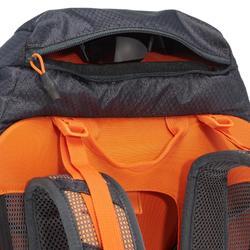 Wanderrucksack MH500 40 Liter schwarz/orange