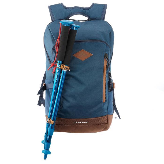 Mochila de Montaña y Senderismo Quechua NH500 20 Litros Azul