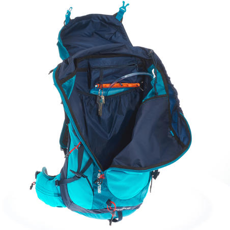 MH500 30 LITRE MOUNTAIN HIKING BACKPACK - BLUE