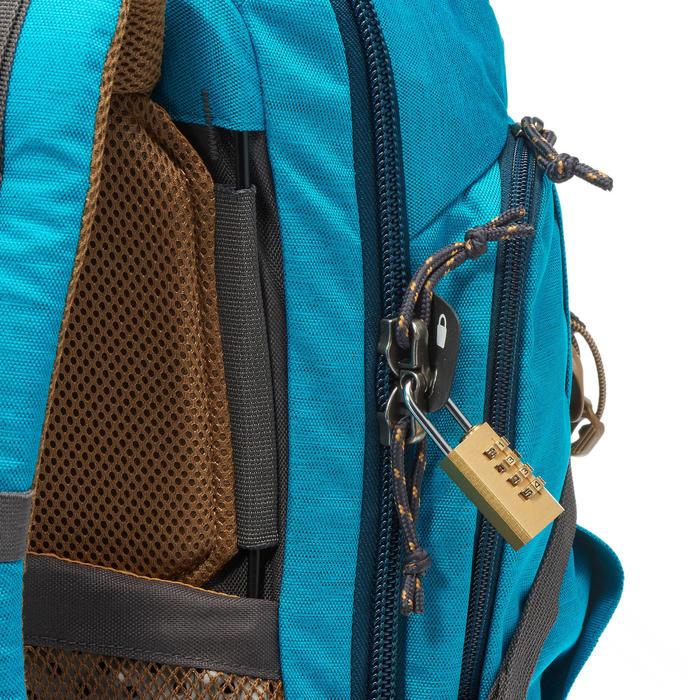 Sac à dos Trekking TRAVEL 500 Femme 50 litres cadenassable bleu - 1109997