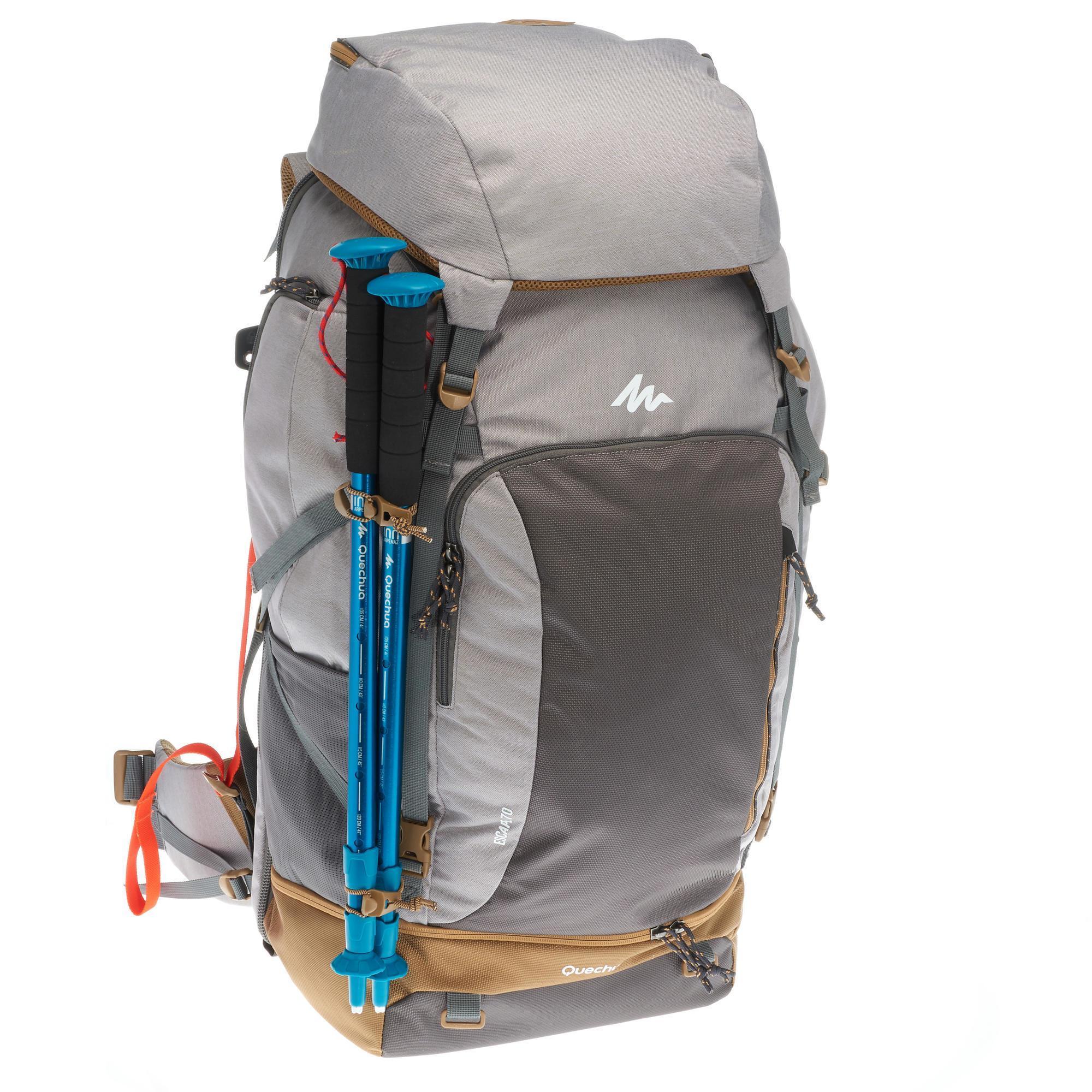 Apta Trekking Litros Candado Travel 500 Mujer 70 Gris Para Mochila  xTwqfYPnRY 451e448e80b
