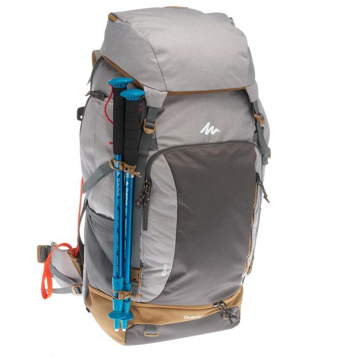 Sac à dos Trekking Travel 500 Femme 70 litres cadenassable gris - 1109998