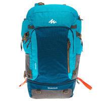 Mochila Trekking apta para candado Mujer Escape 50 litros azul