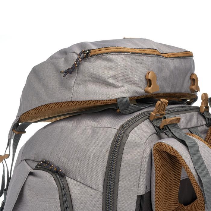 Sac à dos Trekking Travel 500 Femme 70 litres cadenassable gris - 1110003