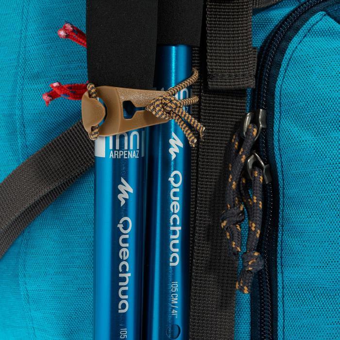 Sac à dos Trekking TRAVEL 500 Femme 50 litres cadenassable bleu - 1110011