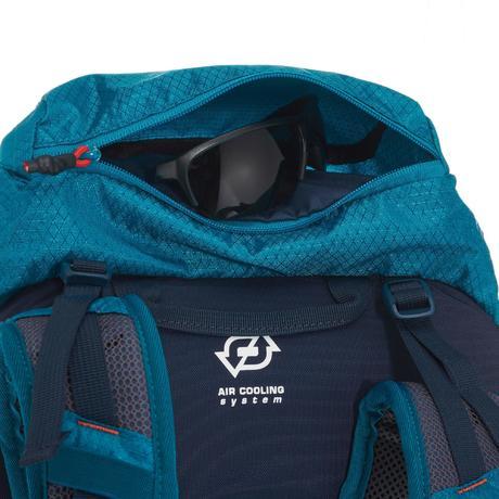 rucksack forclaz 30 air 30 liter herren blau quechua. Black Bedroom Furniture Sets. Home Design Ideas