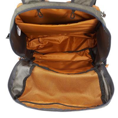 תרמיל גב בנפח 30 ליטר דגם N-Hiking - צבע אפור/חאקי