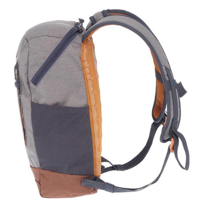 Rucksack Naturwandern NH500 10Liter grau